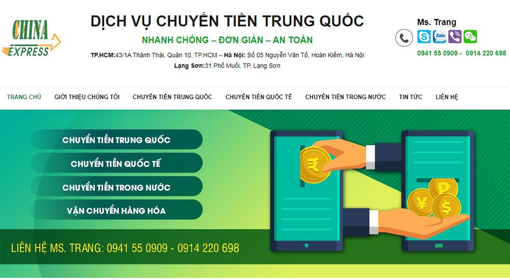 công ty chuyển tiền Trung Quốc Trang Nguyen