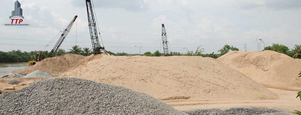 Báo giá cát bê tông sàn Báo giá các loại cát xây dựng