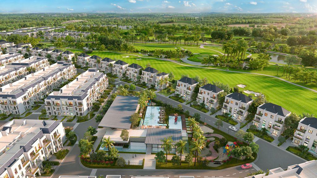Phân tích biệt thự đơn lập và song lập trong dự án West Lakes Golf & Villa